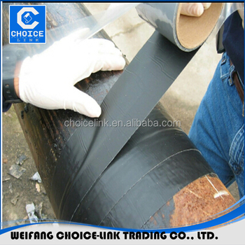 Bituminous Waterproofing Membrane With Self Adhesive Glue Peel And Stick  Membrane