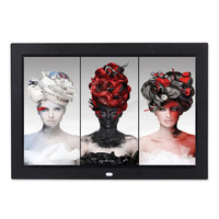 Wall Mounted 13 Inch LED Digital Signage Advertising Media Video Player