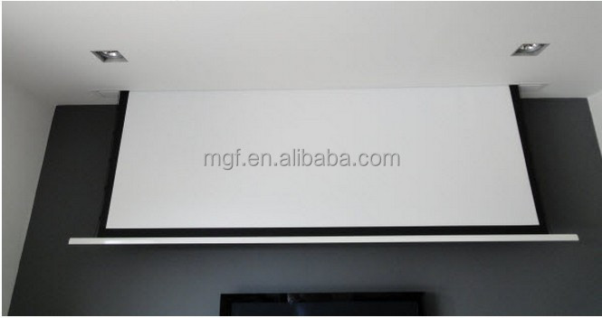 120 Inch Electric Motorized Ceiling Mounted Display Projection Screen
