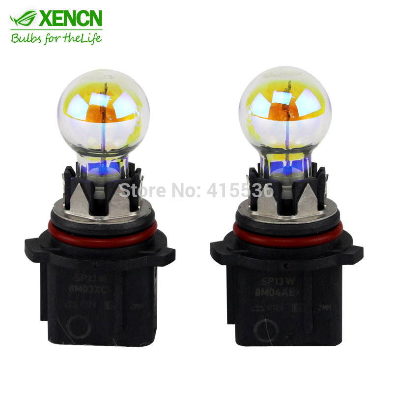 Xencn 12277 Pg18 5d 1 12v P13w 2300k Golden Eyes Super Yellow Light Car Bulbs Germany Quality