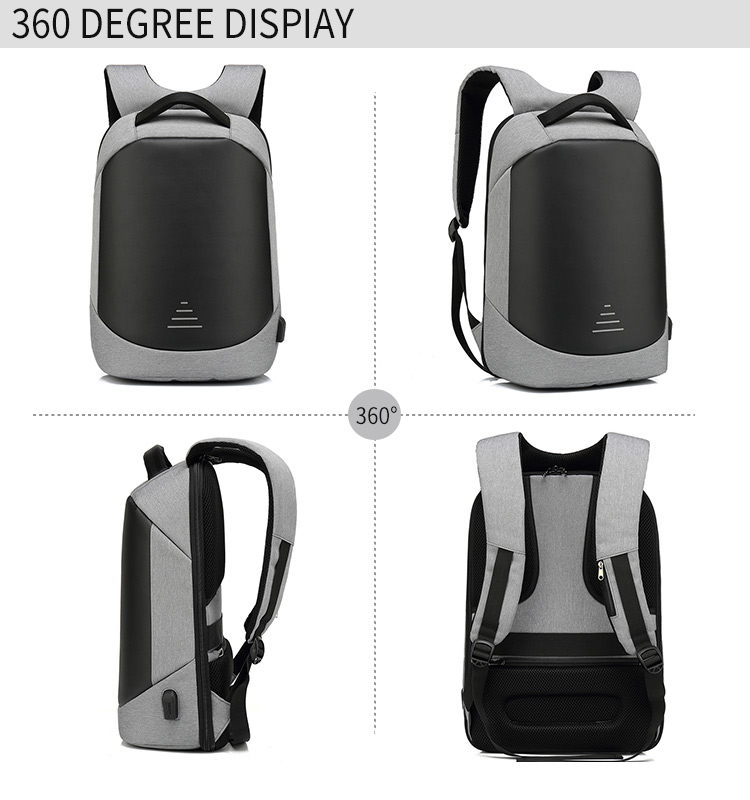 2020 High quality New Design anti-theft laptop backpack USB charging laptop backpack Waterproof  backpack