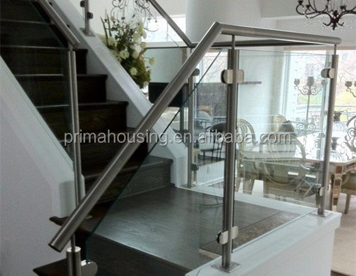 Outdoor Walkway Railings Stair Glass Railing Prices