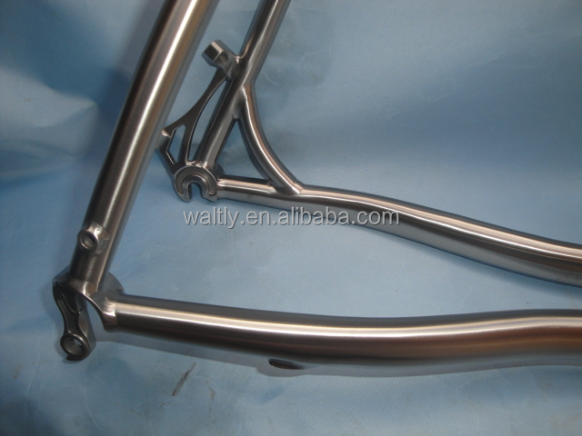 cross titanium bicycle frameset WT--C603M