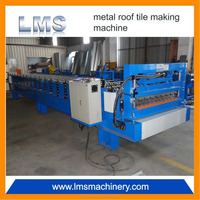 Building Material Used Sheet metal roof tile making machine
