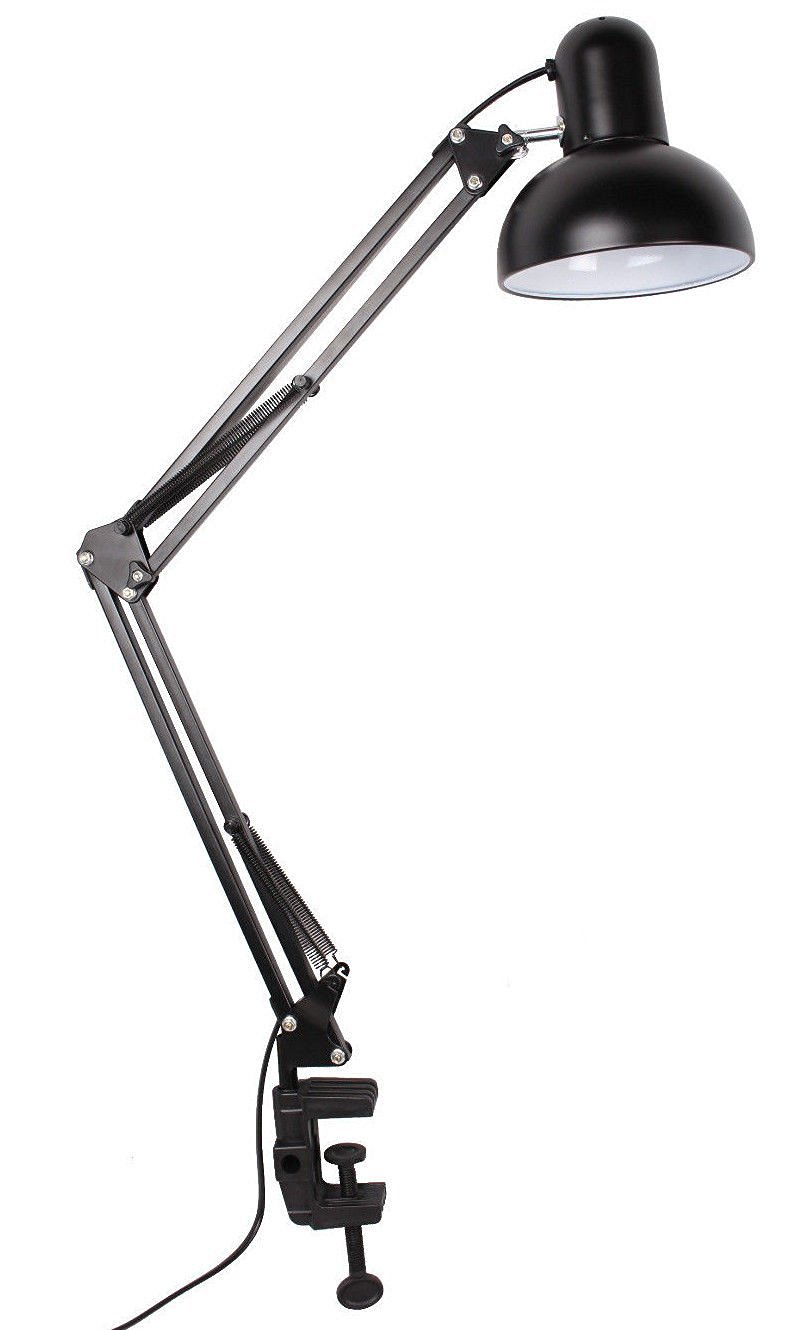 Desk Lamps Computer Desk Lamp Flexible Swing Arm Clamp Mount Office Studio  Home Table Desk Lamp