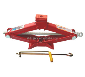 ST-105B 1.5ton scissor jack with rubber stopper
