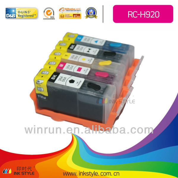 Hot supply 920 cartridge for hp ink cartridge 6500 office jet