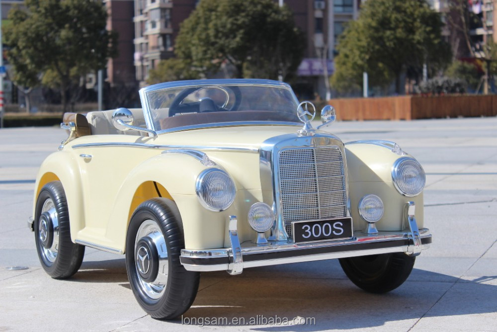 Kids Car Old Classic Mercedes Benz 300s Licensed Ride On - Buy Ride ...