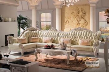Italian Style Velvet Sectional Sofa Set/Classic Leather Chesterfield Sofa/Luxury  Stylish Sofa Bed