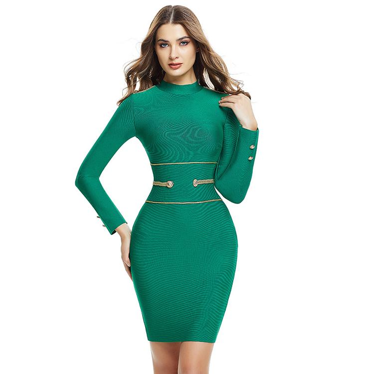 Venta Al Por Mayor Vestidos Verde Esmeralda Cortos Compre