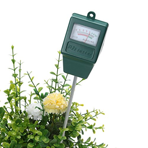 Soil pH Tester - 1 Piece Potting Agriculture Soil 3.0-10.0 pH Level Tester Meter Plants Crops Flowers Vegetable Soil Survey Instrument PH Meter Tester