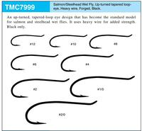 Quality Whosale Price Salmon Fly Fishing Hooks Tiemco Fly Tying Hook EP- TMC7999