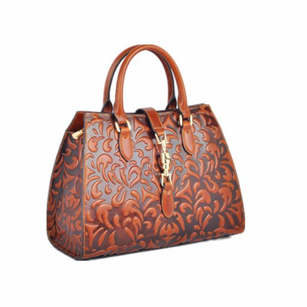 Fashion Elegant French Designer Leather Handbags S Genuine Handbag