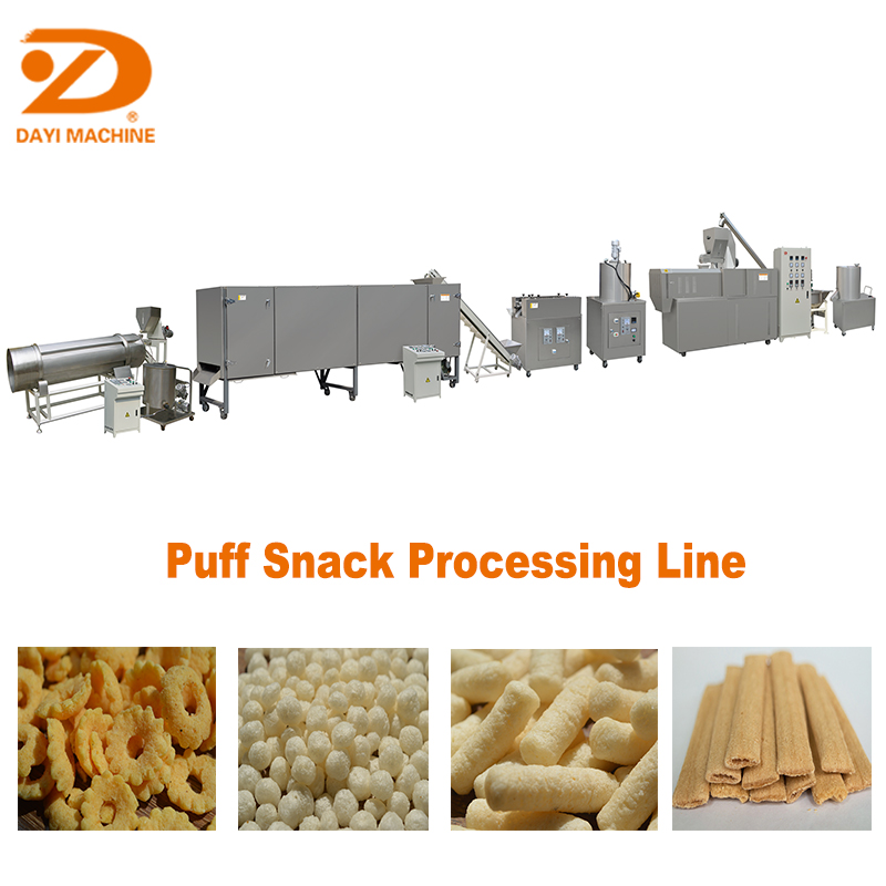 Dayi Extrusion Multifunction Corn Puff Snack extruder