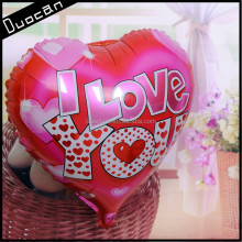 wholesale custom heart shape helium foil balloons