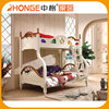 Excellent Material New Design Double Bunk Kids Beds Furniture Free