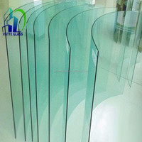 3-19mm Clear/Ultra Clear Flat/Curved Tempered/Toughened Glass with CE Approved