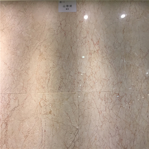 White marble with red vein jade marble tile
