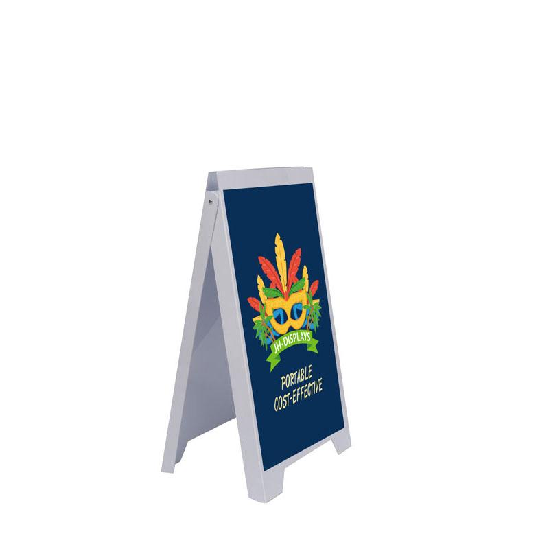 60x90 PVC A-frame PVC MỘT Khung Nhựa Khung Áp Phích