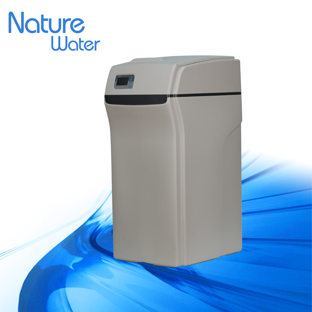 big flowrate household water softener with cabinet