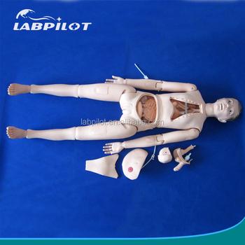 f14cda415d4 Basic Nursing Practice Full Body Manikin, Medical Nursing Training Dummy