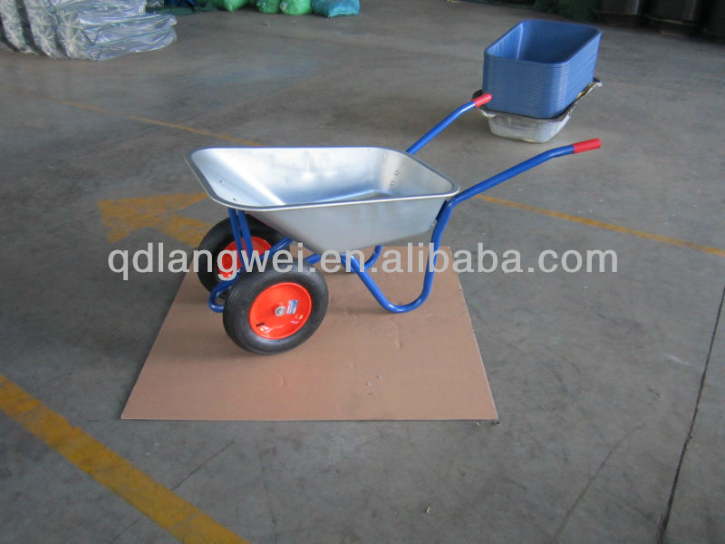wheel barrow tyre and tube wb5017