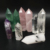 Kinds of Natural Amethyst Rose Quartz Crystal Point Wand Small Rose Quartz Points Crystals Healing Stones for Gifts
