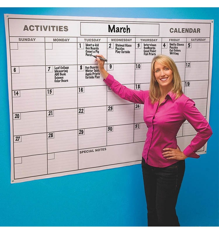 Large Dry Erase Wall Calendar Planner Organizer Buy Planner