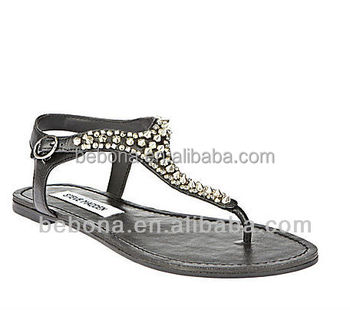41d8eeedfac39c China Wholesale Flat Sandals Women Black Strappy Sandals - Buy Black ...