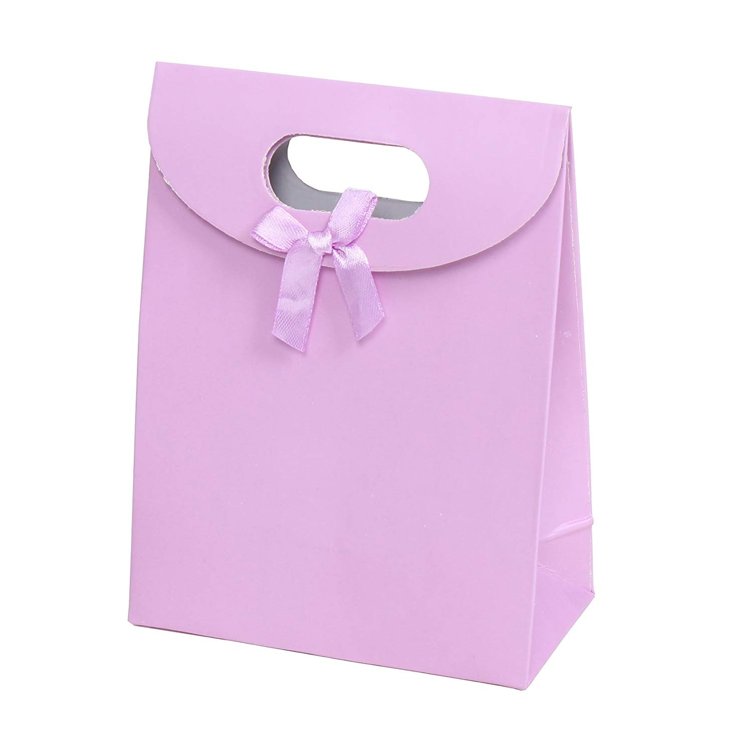 8.5 x 4 x 12 20 Gold Twist Twisted Handle Paper Carrier Bags 220mm x 100mm x 310mm