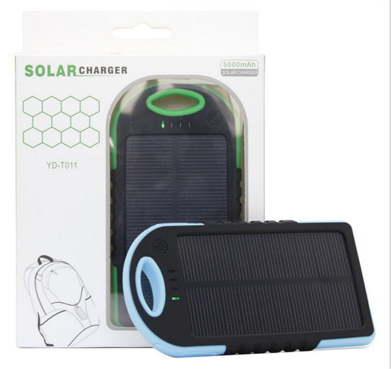 Promotional OEM Waterproof Solar Power Bank 10000mah Charger