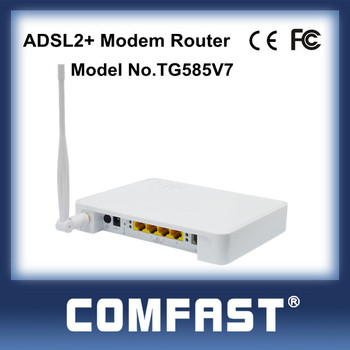 4port 54Mbps Wireless 19216811 Router Adsl Wifi Modem