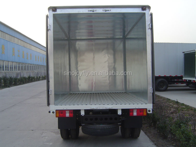 Click Me Best Refrigerated Truck Body Hot Food Trailer