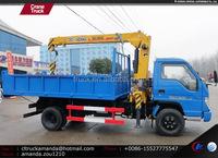 Foton Forland 4*2 Lightweight Cranes,Brand New Crane,103hp Truck ...