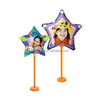 DIY Inkjet star shape printed balloon for festival