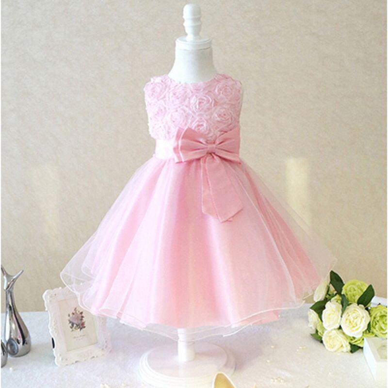 Vestidos formales 2016 vestido de niña de flores para bodas Pageant ...