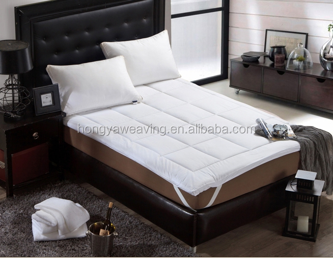 China hot selling down-proof quilted hotel mattress protector