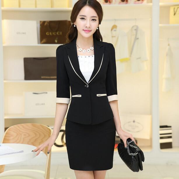 nuevo estilo coreano oficina uniforme dise241os modernos