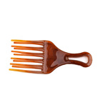 New style best selling high quality cheap plastic beard comb made in china