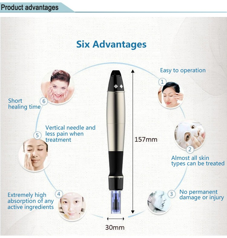2018 distributors wanted Professional Dr pen/derma stamp electric pen for home use and SPA