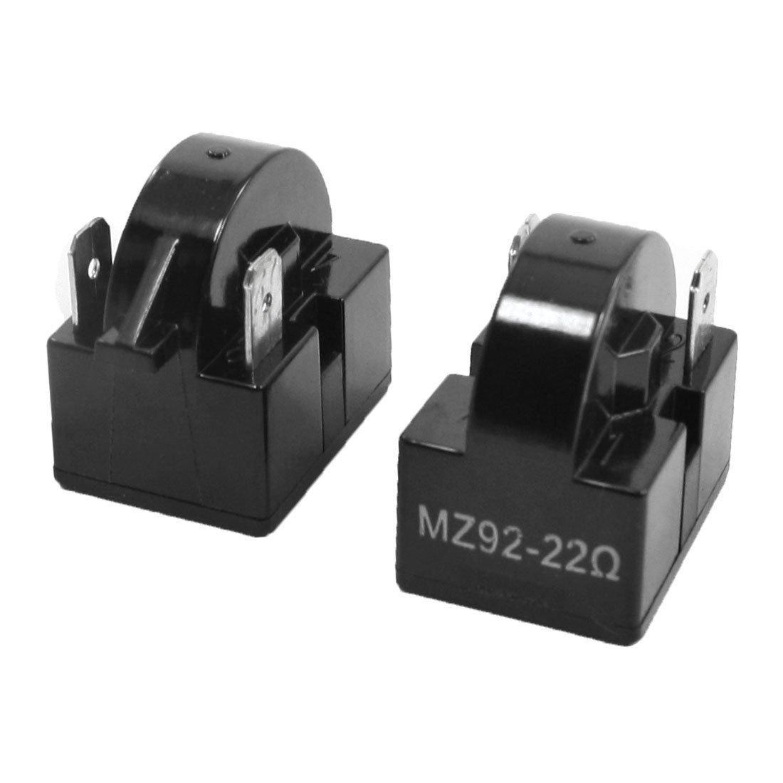 2Pcs MZ92 22 Ohm 2 Terminals PTC Starter Relays for Refrigerator ;TM79F-32M UGBA49830