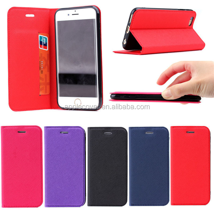 "Wholesale cheap price pu leather 4.7"" custom mobile phone case cover for iphone 6"
