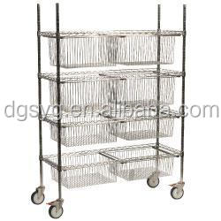 Sliding Baskets Shelving Unit Standard