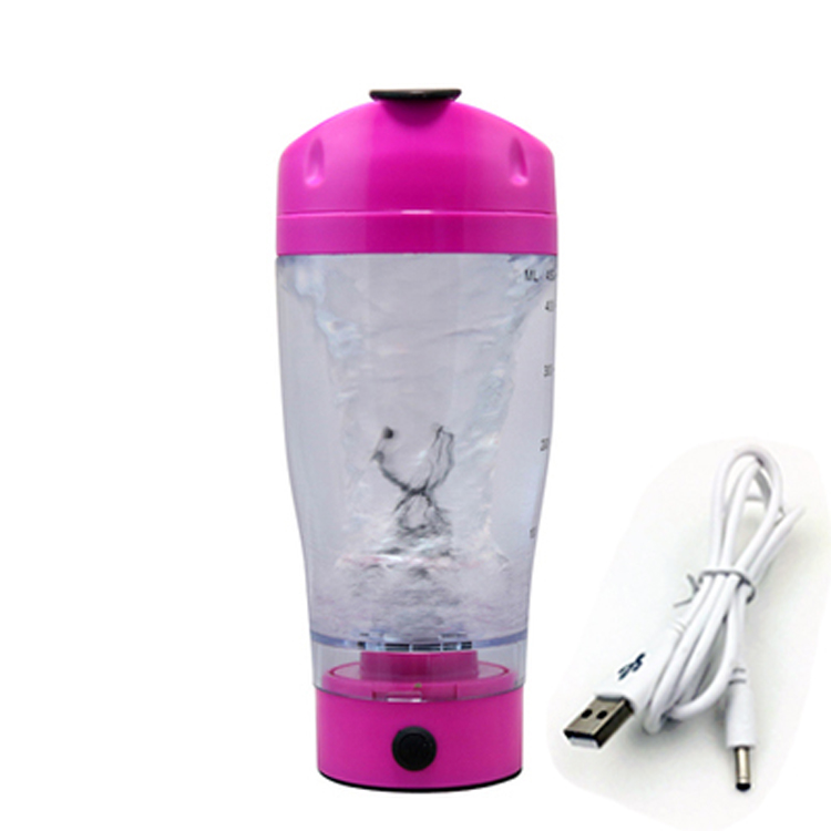 New product of 2016 16oz electric shaker bottle for nutrition powder shaking plastic bottle whloesale
