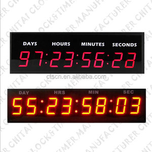 Digital Year Month Day Hour Minute Second LED Countdown Timer