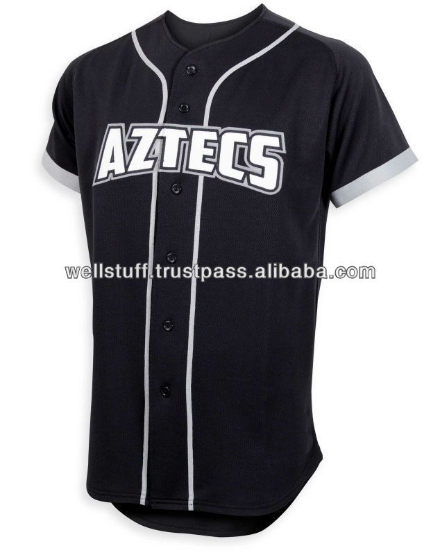 High Quality Embroidered Baseball Jersey