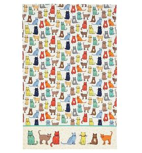 Factory novelty custom printed kitchen tea towel wholesale