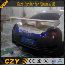 JC Style FRP GTR NISMO Car Rear Wing for Nissa n GTR R35