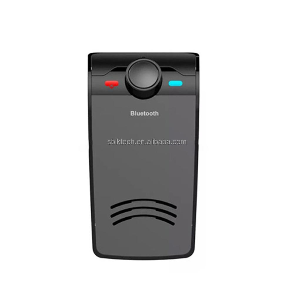 Sunvisor Rechargeable Bluetooth V4.0 Mobile Cell Phone Handsfree Speaker