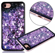 Mobile Phone Accessories, Quicksand Glitter Cell Phone Case For Iphone 7